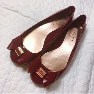 TED BAKER women's jelly pumps